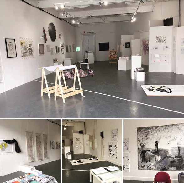 Draw the Line Exhibition, Surface Gallery 2017