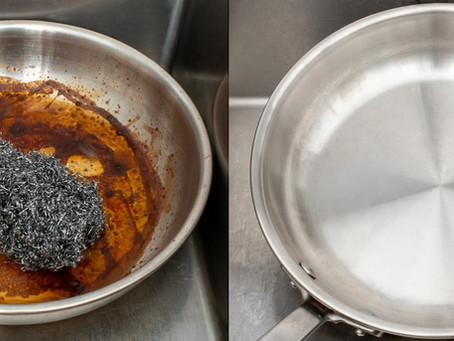 Burnt your pan?