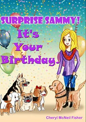 book cover: Surprise Sammy! It's Your Birthday