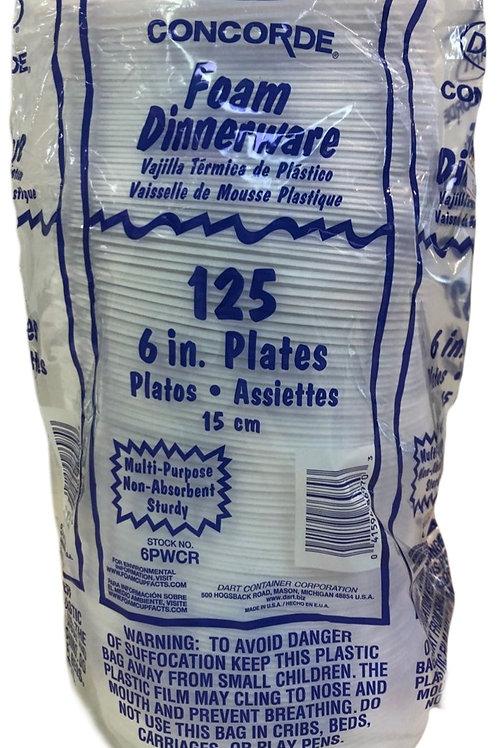 """6"""" Foam Plates"""