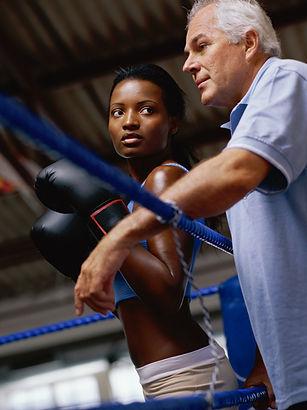 entraîneur de boxe