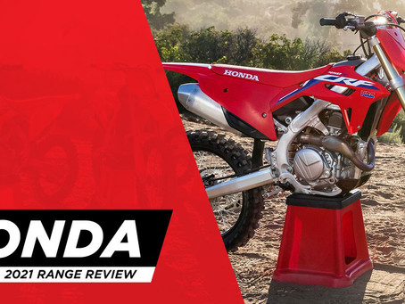 2021 HONDA RANGE REVIEW