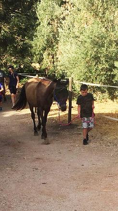 Ronnie Horse Riding In Spain