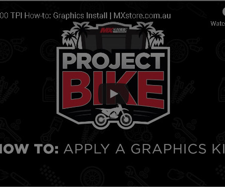 HOW-TO: APPLY GRAPHICS KIT
