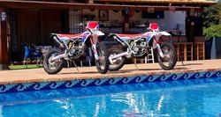 Bikes and Pool