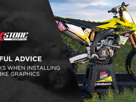 FOUR HACKS WHEN INSTALLING DIRT BIKE GRAPHICS