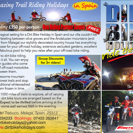 Book Motorcycle Tours with Dirt Bike Holidays.