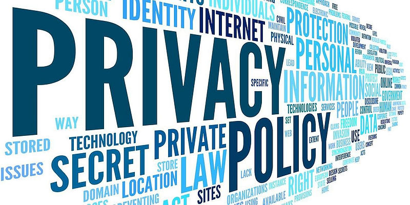 Privacy policy background picture