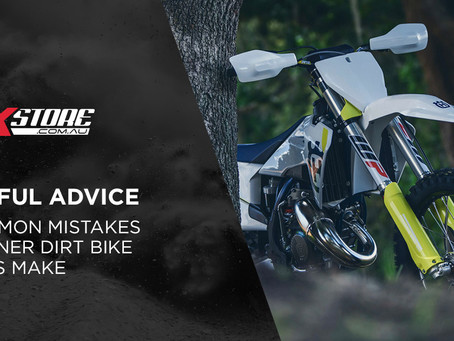 3 COMMON MISTAKES BEGINNER DIRT BIKE RIDERS MAKE
