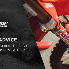 THE BEGINNERS GUIDE TO SETTING UP YOUR DIRT BIKE SUSPENSION