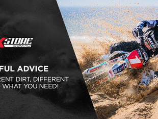 DIFFERENT DIRT, DIFFERENT GEAR: WHAT YOU NEED FOR CHANGING MOTOCROSS CONDITIONS