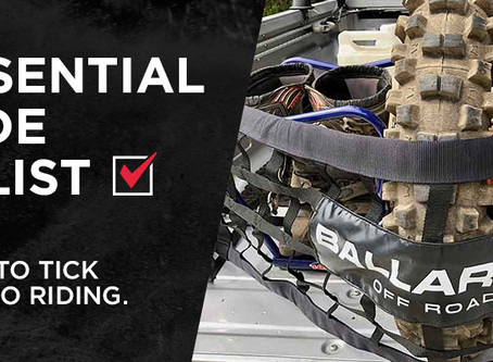 THE ESSENTIAL PRE-RIDE CHECKLIST - 7 BOXES TO TICK BEFORE YOU GO RIDING