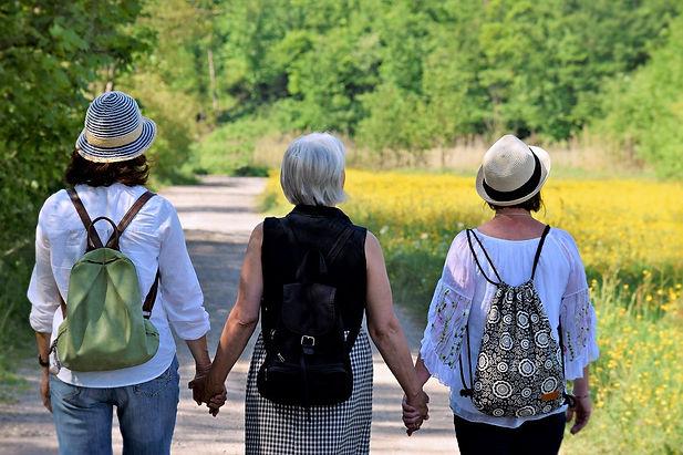 women hiking with DBH SPAIN.jpg