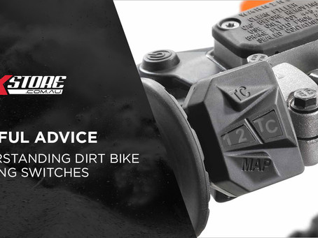 UNDERSTANDING DIRT BIKE MAPPING SWITCHES