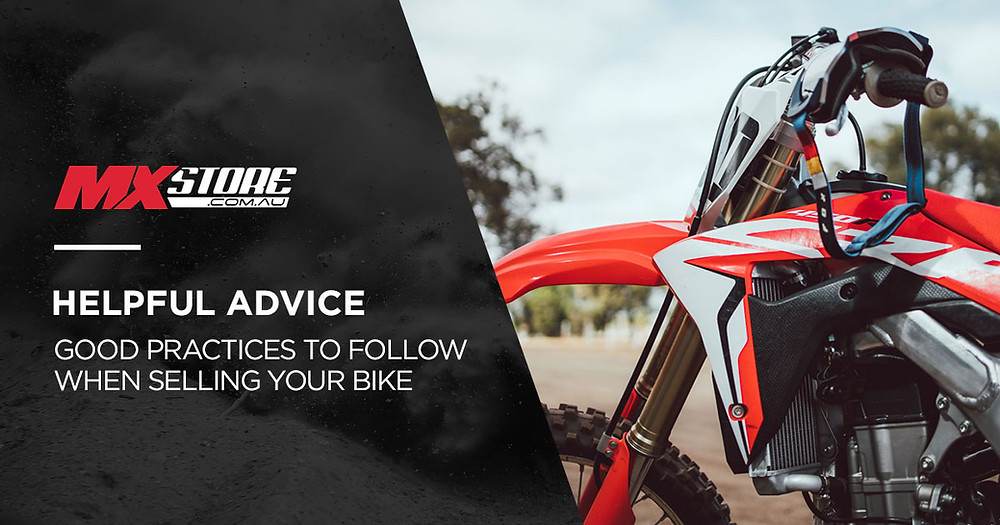 Selling Your MX Bike Good Practice