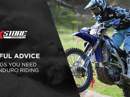 6 ESSENTIALS FOR ENDURO RIDING