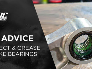 HOW TO: INSPECT AND GREASE YOUR BEARINGS