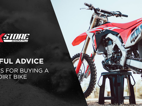 SIX TIPS FOR BUYING A USED DIRT BIKE
