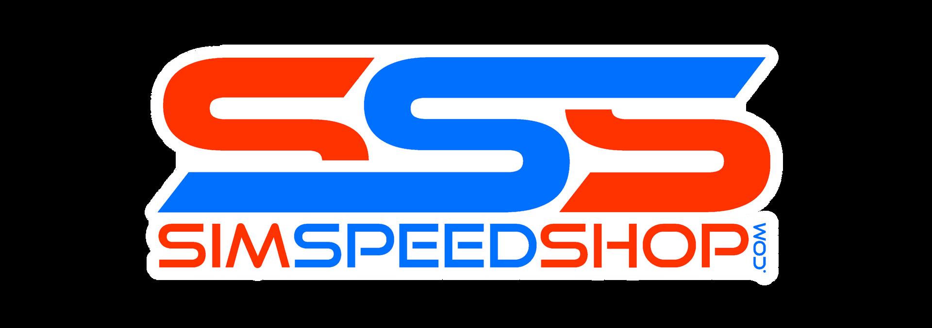 SSS White Outline Logo