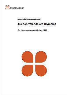 Tro och vetande om blymönja 2011.jpg