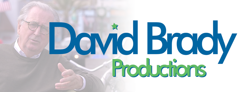 David Brady Productions Banner