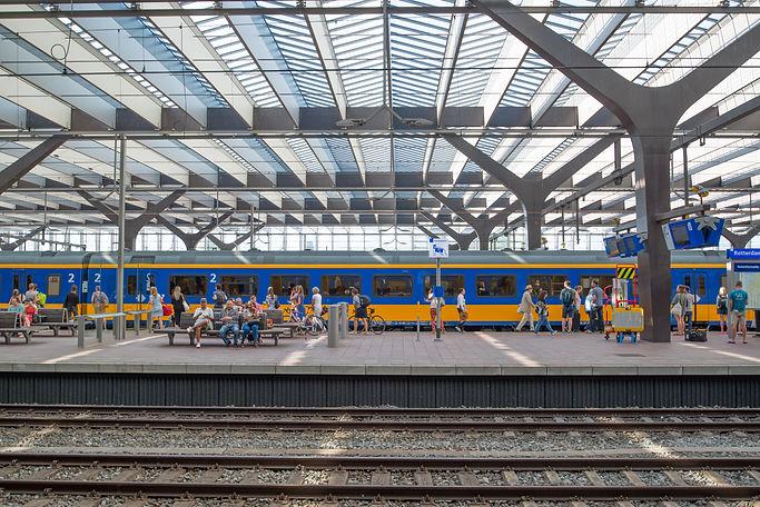 Netherlands Train Station