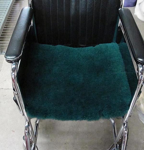 "Wheelchair Pads #8515 - 16"" x 16"" #8516 - 16"" x 18"" #8517 - 18"" x 18"""