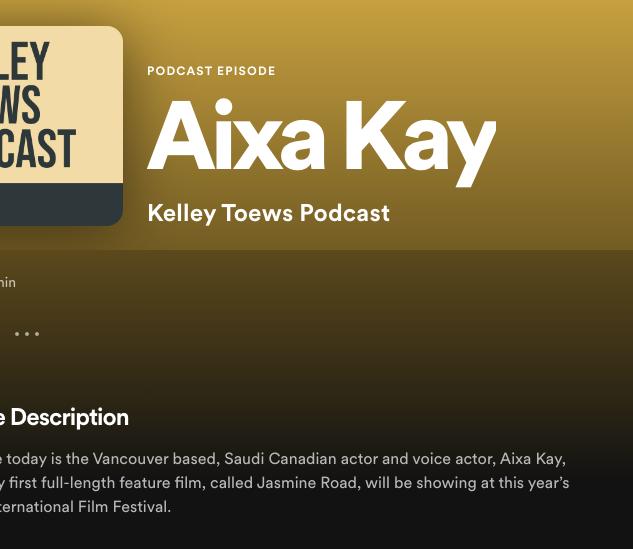 Kelley Toews Podcast