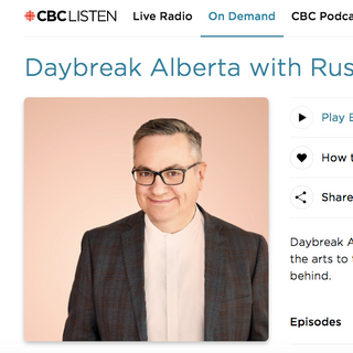 CBC Calgary Daybreak with Russell Bowers - Warren Sulatycky