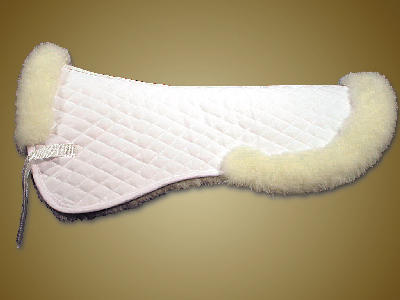 #1457 - Partial Saddle Pad Wool