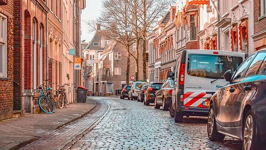 Quiet street in Amsterdam