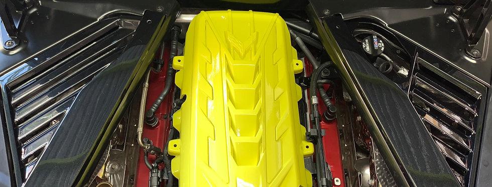 2020+ Corvette C8 FRP Engine Cover Painted: Pick Color
