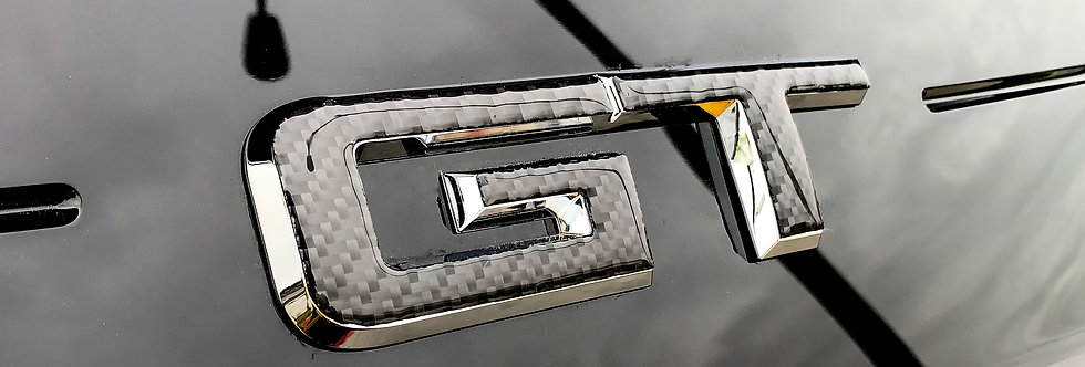 2015 - 2019 Mustang Carbon Fiber Rear Decklid GT Emblem Overlay