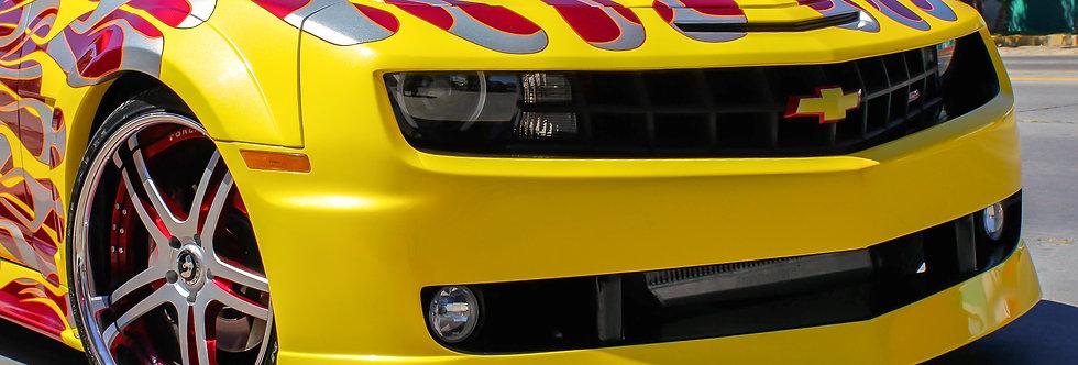 2010 - 2013 Camaro Hot Wheels Fiberglass Front Bumper