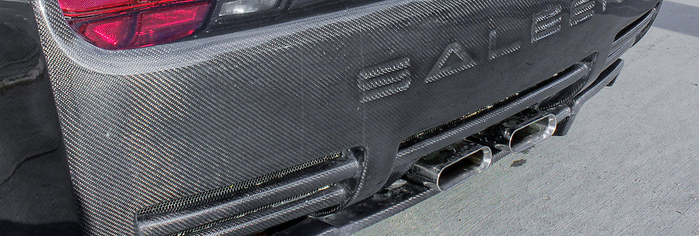2005 - 2009 Mustang Carbon Fiber Saleen Style Rear Diffuser