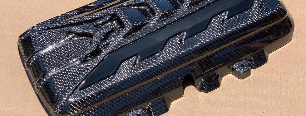 2020+ Corvette C8 Carbon Fiber Engine Cover