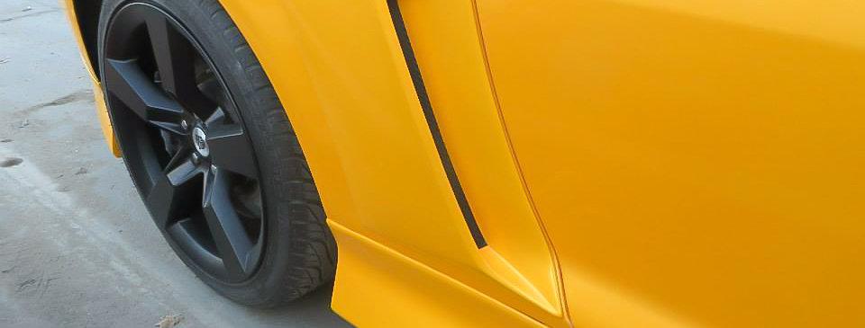 2010 - 2013 Camaro Fiberglass Side Scoops