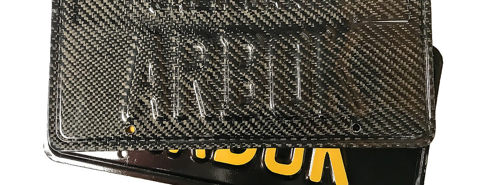 Custom Carbon Fiber License Plates