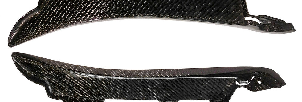 2015 - 2017 Mustang Carbon Fiber GT350 Style Splash Guard Kit