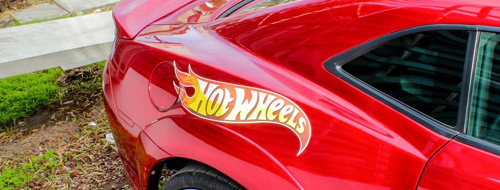 2010 - 2013 Camaro Hot Wheels Fiberglass Spoiler
