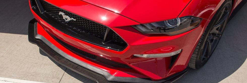2018 - 2021 Mustang Carbon Fiber Sigala Front Splitter (Non-PP)