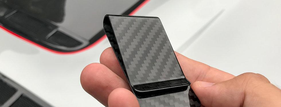 Real Carbon Fiber Money Clip