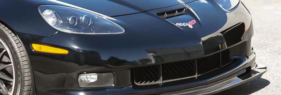 2005 - 2013 C6 Corvette Z06 Style Fiberglass Front Bumper