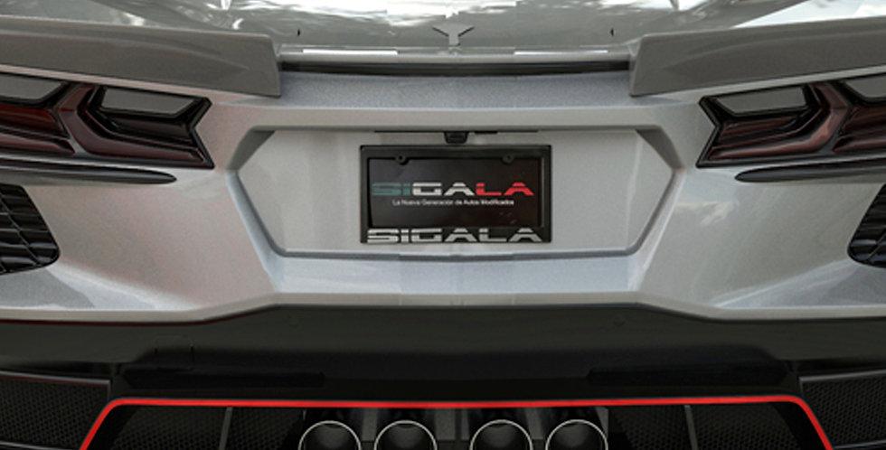 2020+ Corvette C8 Widebody RR Engine Vents (2 pcs)