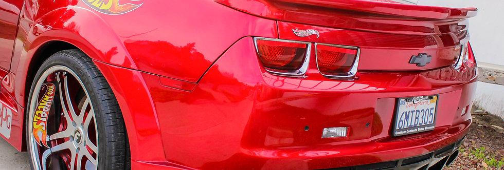 2010 - 2013 Camaro Hot Wheels Fiberglass Rear Bumper
