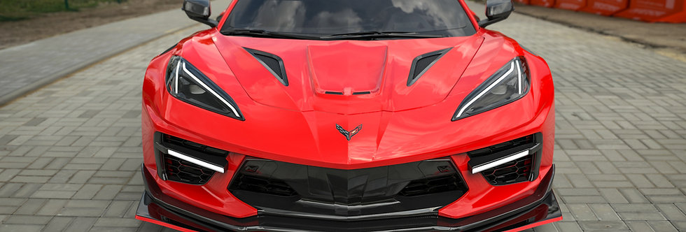 2020+ Corvette C8 Widebody RR Kit (32 pcs)