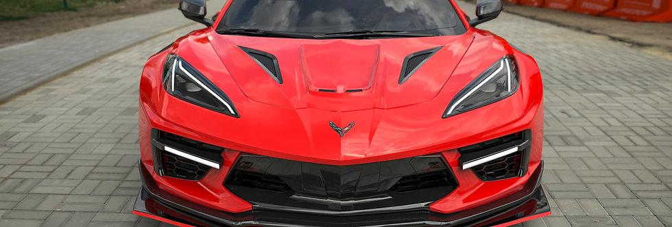2020+ Corvette C8 Widebody RR Kit (32 pcs)