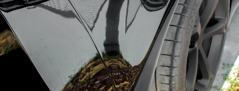 2005 - 2013 Corvette Fiberglass Side 1/4 Panel Extensions