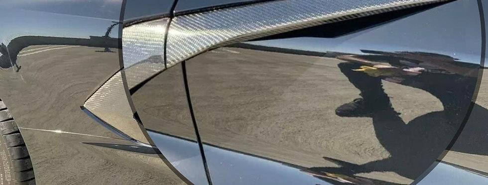 2020+ Corvette C8 Carbon Fiber Door Molding