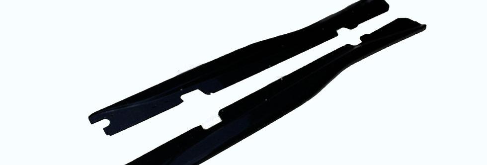 2014+ Corvette Z06 Style Fiberglass Side Skirt Extensions